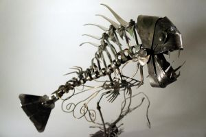 Scrap Metal Fishy - 3 by Devin-Francisco