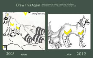 Draw this again Challenge - Sikany by enyce122
