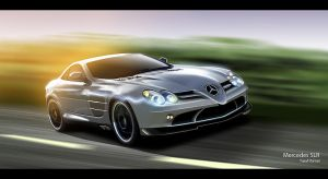 Mercedes SLR by Flame-X