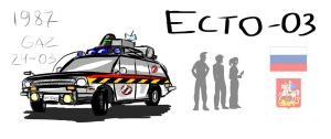 GHOSTBUSTERS International: Ecto-03 by iProton