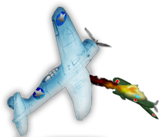Dogfight over the skys by TranssexualJesus