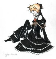 Imitation Black Len by TinyPaperStars
