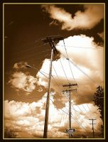 power poles by crimsonravenwarrior