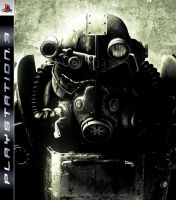 Fallout 3 PS3 Cover by haunted-passion