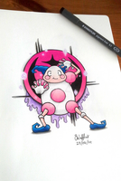 Mr. Mime by Shanrocket
