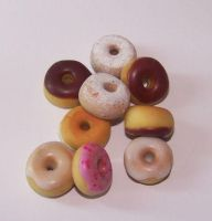 NEW Scented Donut Charms by PookieTookieJewelry
