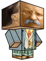 Cubee - Theodore Roosevelt by 7ater