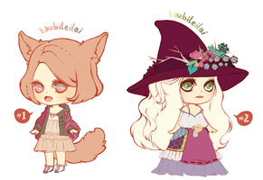 [CLOSED]duo adoptables by taubileilei