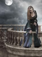 The balcony by vampirekingdom