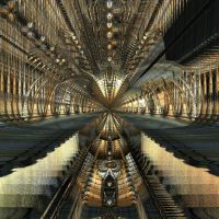 Fractal Train by Solitare-Girl