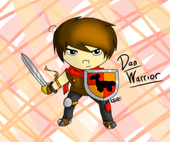 DANisnotonfire Warrior by singingaboutthesnow