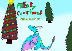 Merry Christmas PinkDesi101 by Shorty-Greydragon