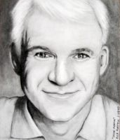 Steve Martin by Doctor-Pencil