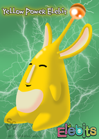 Yellow Power Elebit by ravenclawyoshi