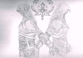assassin's creed by s0ulr3ap3r22
