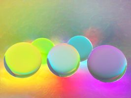 Rainbow Spheres by DemonVash08
