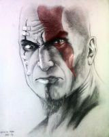 kratos by genesis-rdz
