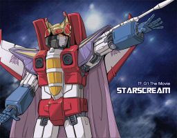 ME STARSCREAM New King by Tyr44