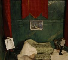 Thorin's Bedroom in 1:12 scale: sitting area by PrincessAveril