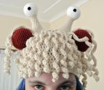 Flying Spaghetti Monster Crochet Hat by rachaek