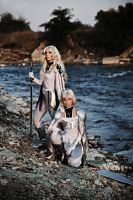 Teresa and Clare Claymore by LucreciaBorja