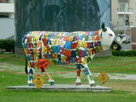 Cow 4 by JacquiJax-Stock