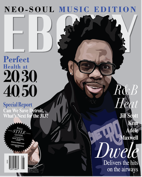 Dwele Magazine Cover by iascend