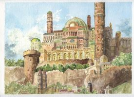Earthsea Watercolor by Ravenvale18