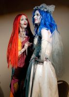 Sally and Emily by SageBell