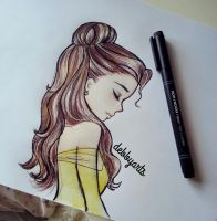 Belle by DebbyArts