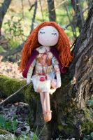 Deer doll by freedragonfly