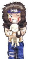 Chibi Kiba by DemonAnime-Bloodlust