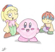 Hoshi no Kirby -Colored- by IgotTheMagicHands