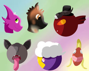PKMNation: Headshots Headshots by OtaPotato