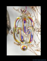 Handmade Glass AB Ornament and.... by TouchRosesAhna