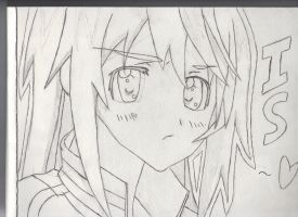 Charlotte from Infinite Stratos by JinxDrawings
