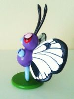 Sculpey Butterfree by ChloeMcGhoe