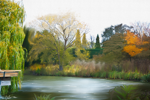 Oil-Painting Landscape by kaicho20