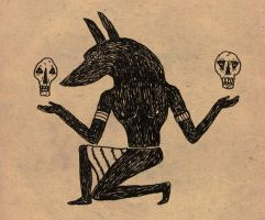 Anubis by Echoes83