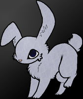 Evil bunny Adoptable. (closed) by xXQueen-BooXx