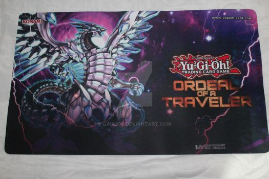 Blue-Eyes Chaos MAX Dragon | Custom Playmat by Gaia206