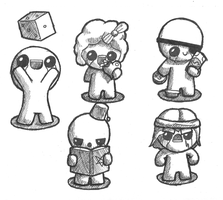 Binding of Isaac! by Foxelbox