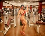 Tyche Strutting at the Gym by WhisakedJak
