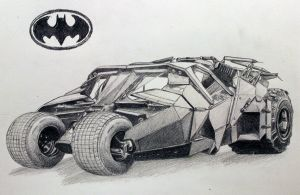Batmobile by BlackRoseXOX
