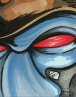 Cad Bane - Sketch Card by blue-but-beautiful