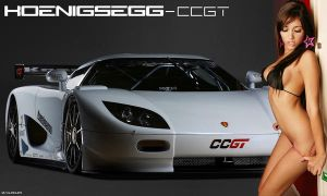 wallpaper Koenigsegg-CCGT-sexy by djacura