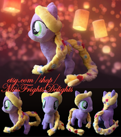Pony Plush: Rapunzel -FOR SALE- by SnowFright