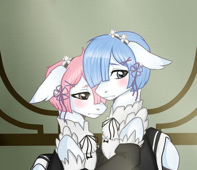 Ram and Rem by Avaverse