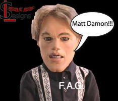 MATT DAMON by acelegna
