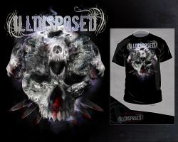 ILLDISPOSED - iceskull shirt by archetype-it